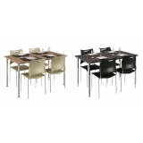 onde encontro mesa para refeitório com cadeiras Lapa