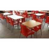 onde encontro mesa para refeitório de empresa Cerqueira César