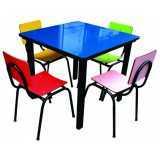 onde encontro móveis para refeitório escolar infantil Jardins