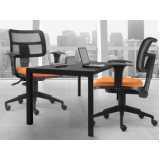 quanto custa cadeira para escritório Alphaville Residencial Um